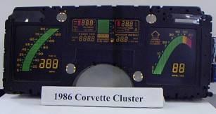 Repair Station for 1985 Version of the Corvette Digital Dash